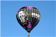 Day of the Dead Themed Hot Air Balloon