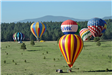 Hot Air Balloons on the Ground