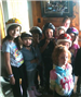 Childrens Group Photo While Wearing Helmets